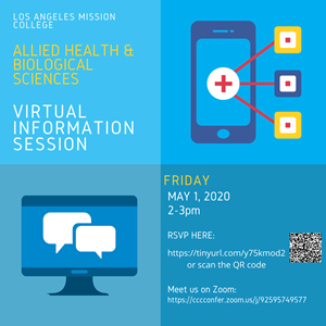 Allied Health & Biological Sciences Virtual Info Session