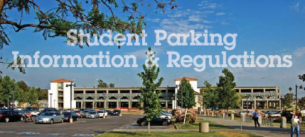 Student parking Information Regulations
