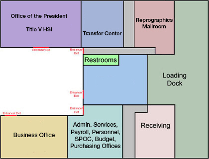 Campus Service Interior Map